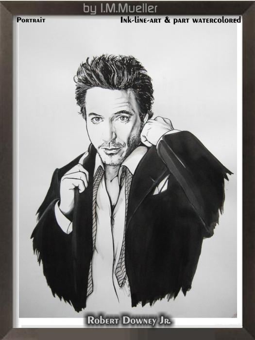 Robert Downey Jr par immueller